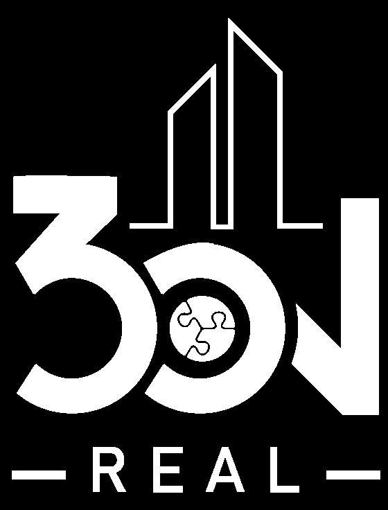 Biele logo 3OnReal