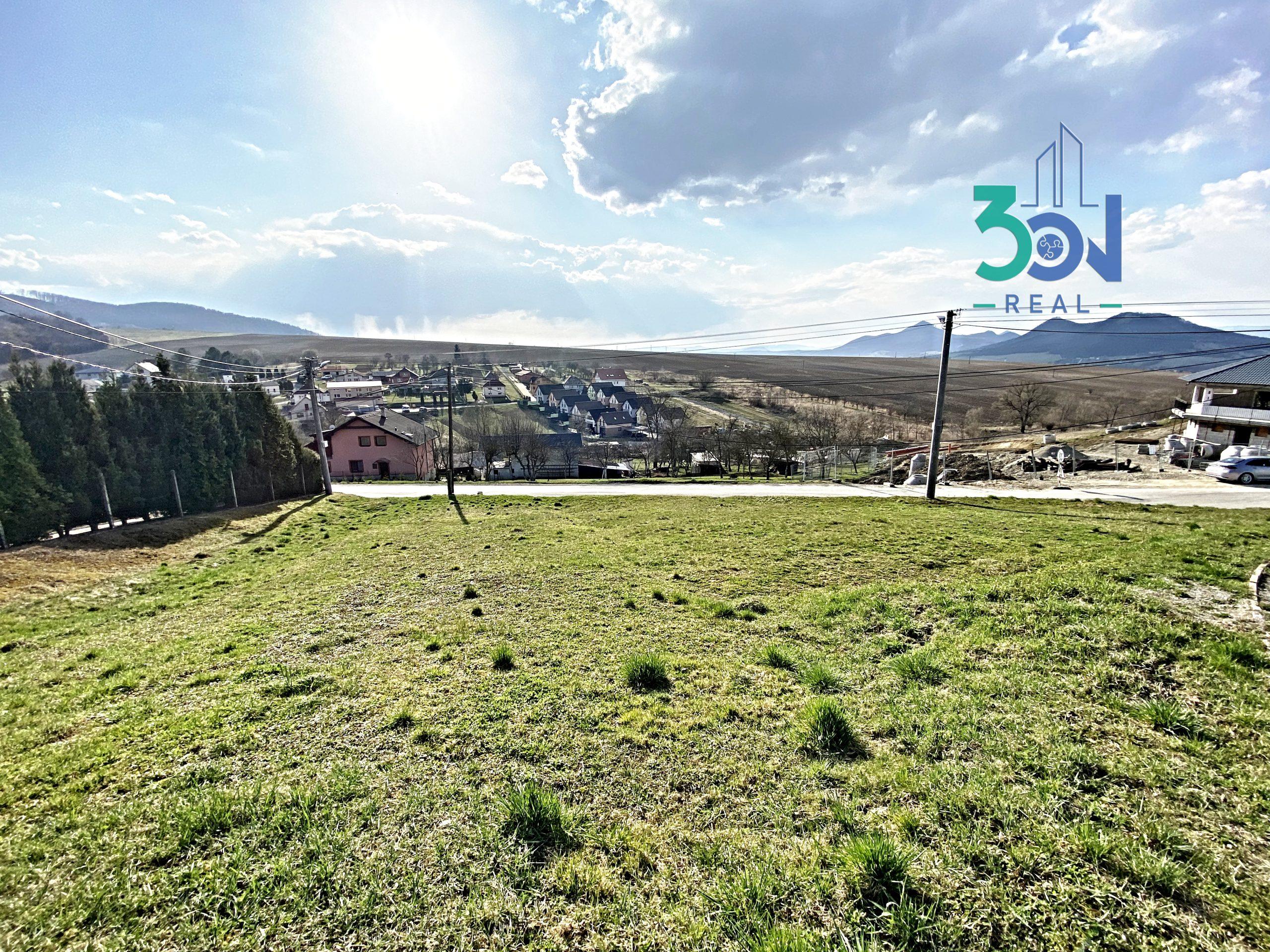 /PREDANÉ/ Pozemok na výstavbu rodinného domu – 12km od Prešova